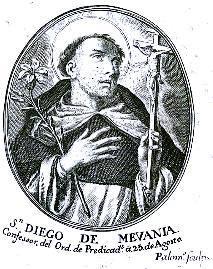 San Diego de Mevania, identificado
