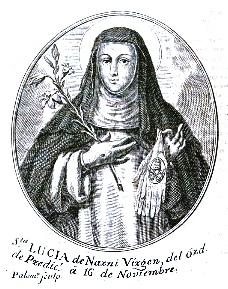 Beata Lucía de Narni, otra estigmatizada