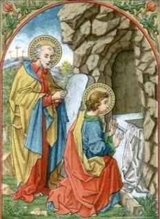 El discípulo vio y creyó... Pero, ¿que vio?