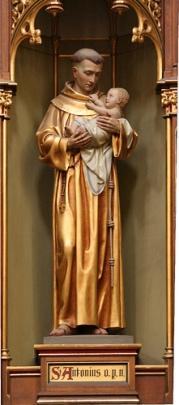 Culto e iconografía de San Antonio de Padua.
