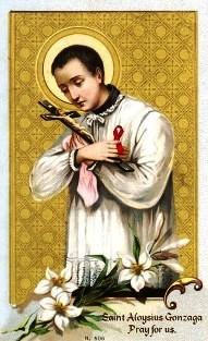 San Luis Gonzaga y el sida