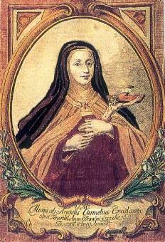 Beata María de los Ángeles, carmelita.