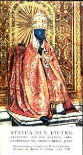 San Pedro y sus dos cátedras